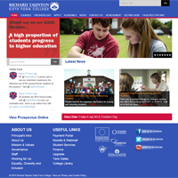 Richard Taunton Sixth Form College, powered by Cosmos®